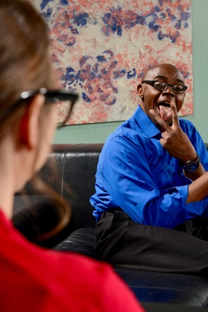 Dr. Riley Reid has her patient's bbc screwing her snatch after oral fondling